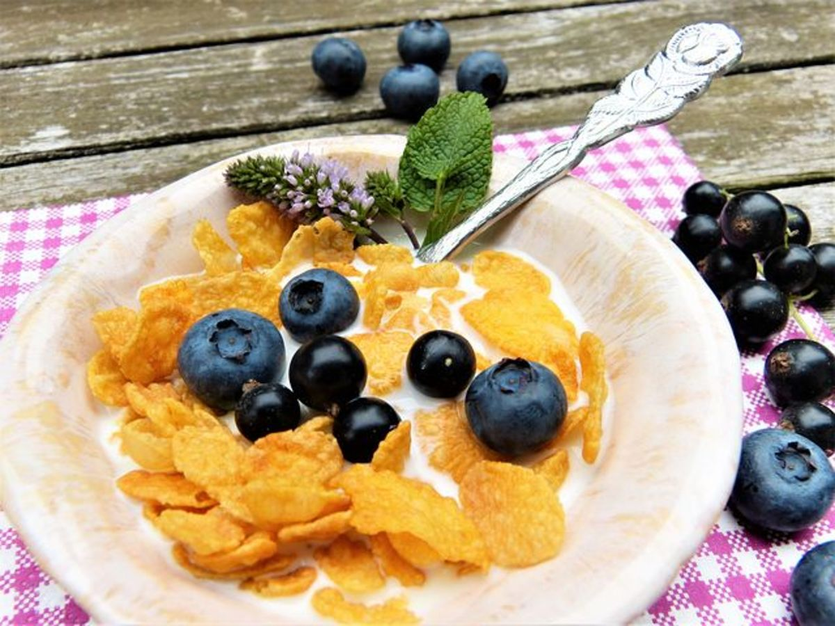 Whole grain cereals, perhaps with almond milk, get an upgrade in flavor and nutrition by adding berries.