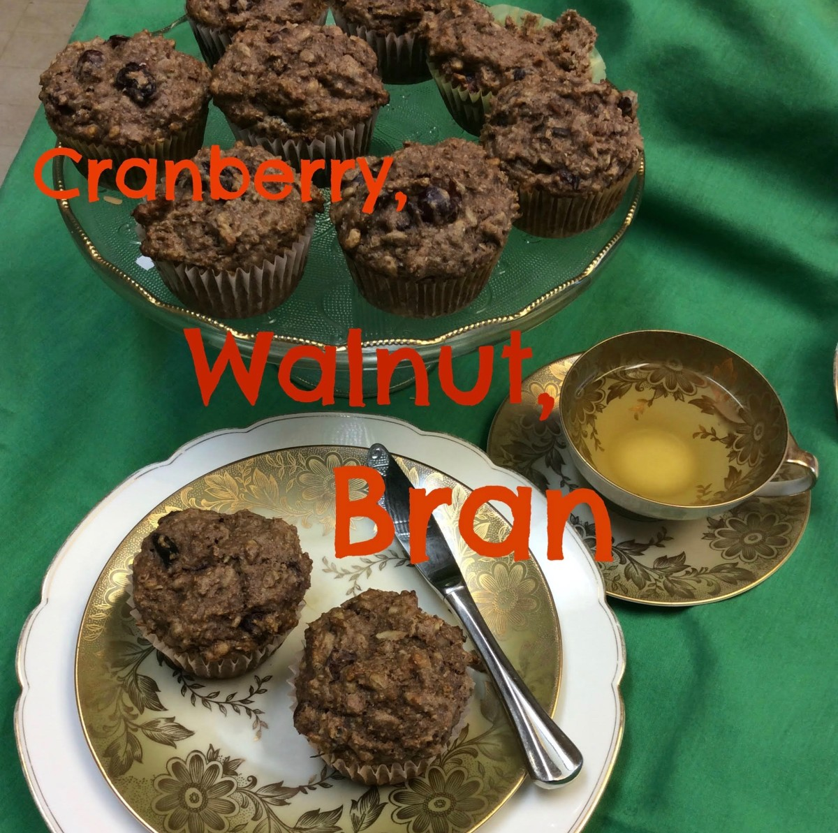 Adapt a bran muffin recipe to include dried fruits, nuts, seeds, wheat germ and other super ingredients.