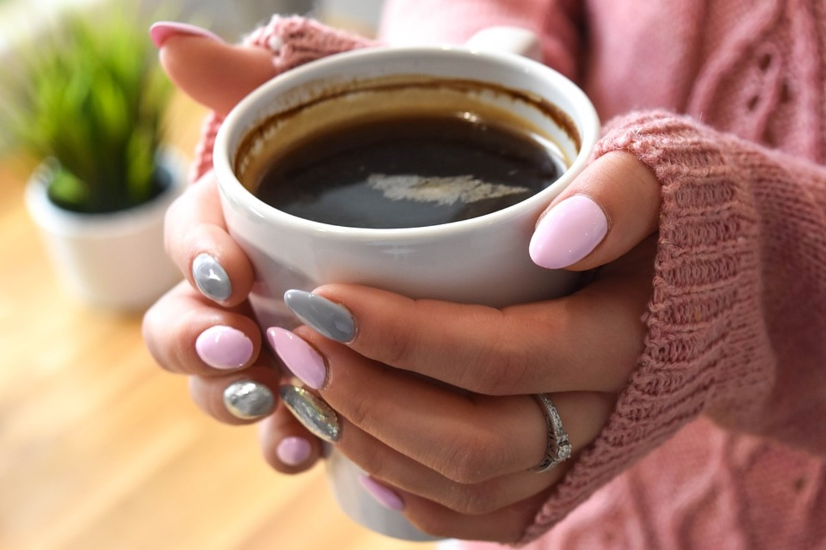 Mindfull eating and drinking can start with something as small as a cup of coffee.