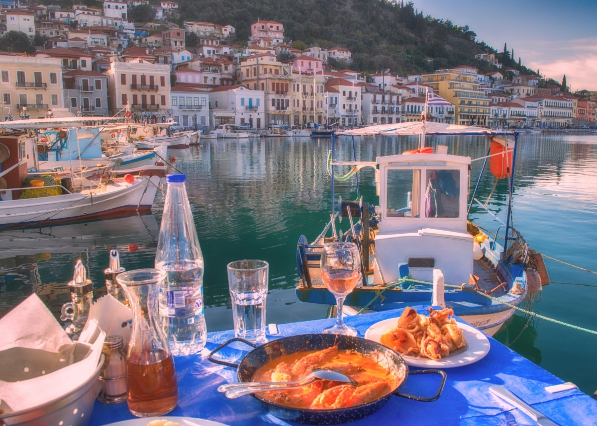 Greek food is considered one of the world's healthiest cuisines.