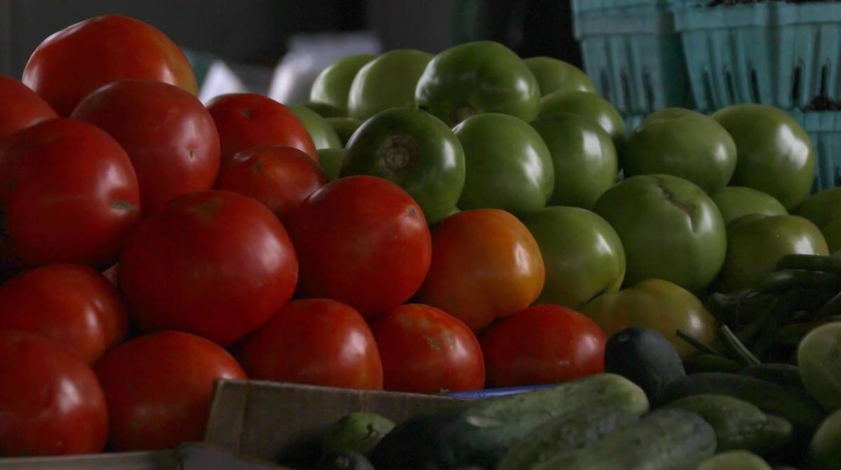 Although tomatoes are eaten in many parts of the world, they originated in the  Americas.