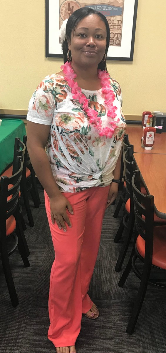 I had a surprise party for a friend yesterday (06/23/2018)... this time it was Hawaiian-themed. As of yesterday, I weigh 180 pounds.