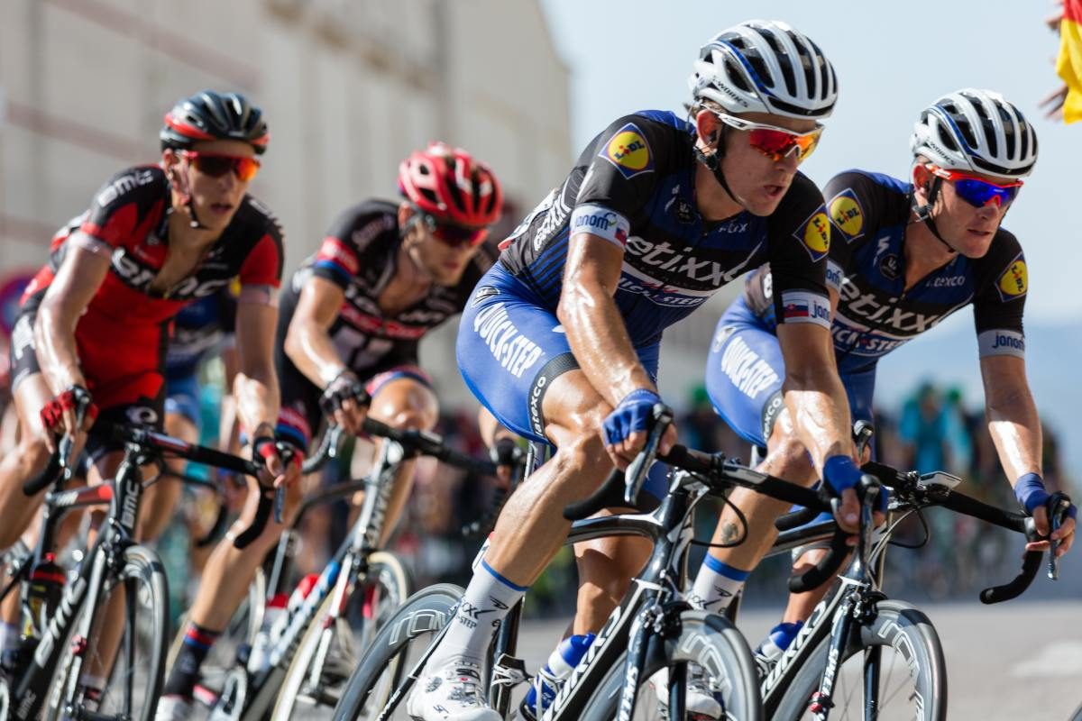 Cycling is a great sport to improve your cardiovascular endurance.
