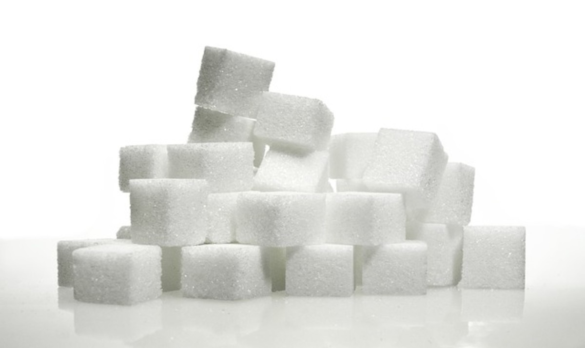 Sugar causes inflammation in the body.