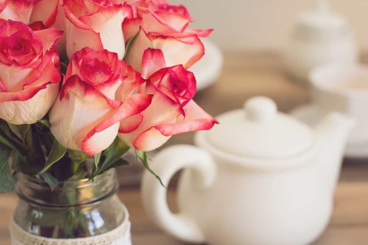 Rose tea is great for improving your skin and hair.