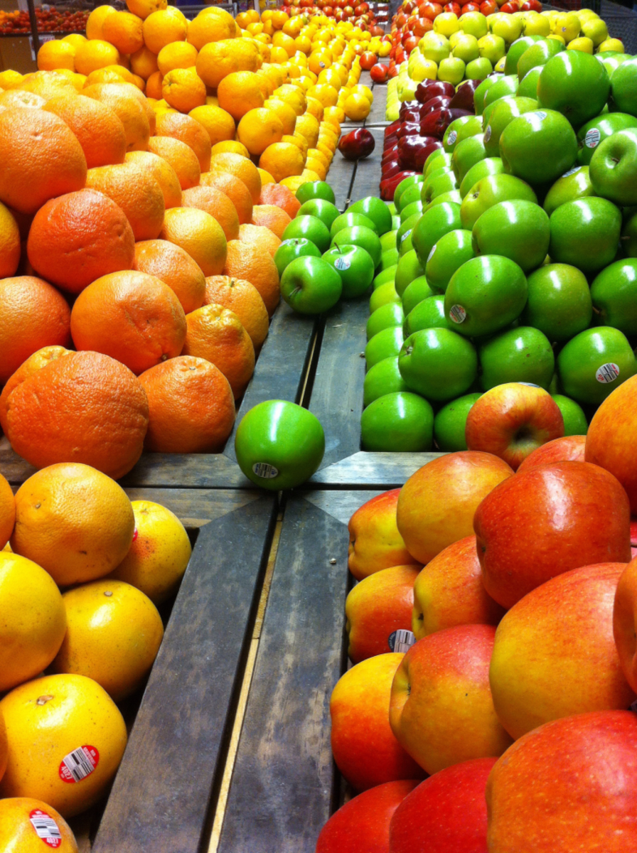 Fresh fruits can provide a great amount of nutrients.