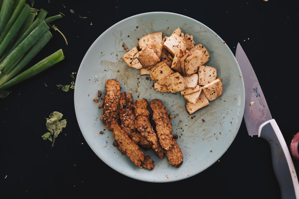 Tempeh and tofu - they just soak up all the flavour you put into them.