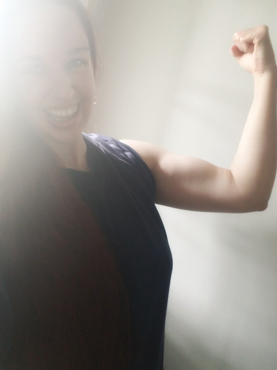 Working out at home can be effective and fun! Creating a habit and finding your tribe are two major keys to success.