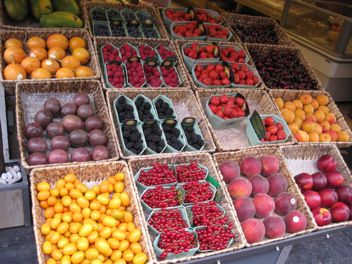 The DASH diet is heavy on fruits and vegetables, and balanced protein intake.