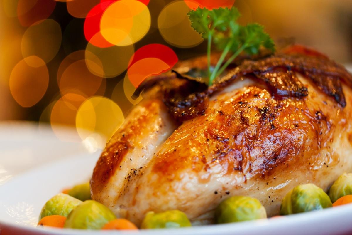 Load up on turkey or chicken with a generous side of veggies for a filling and nutritious meal.