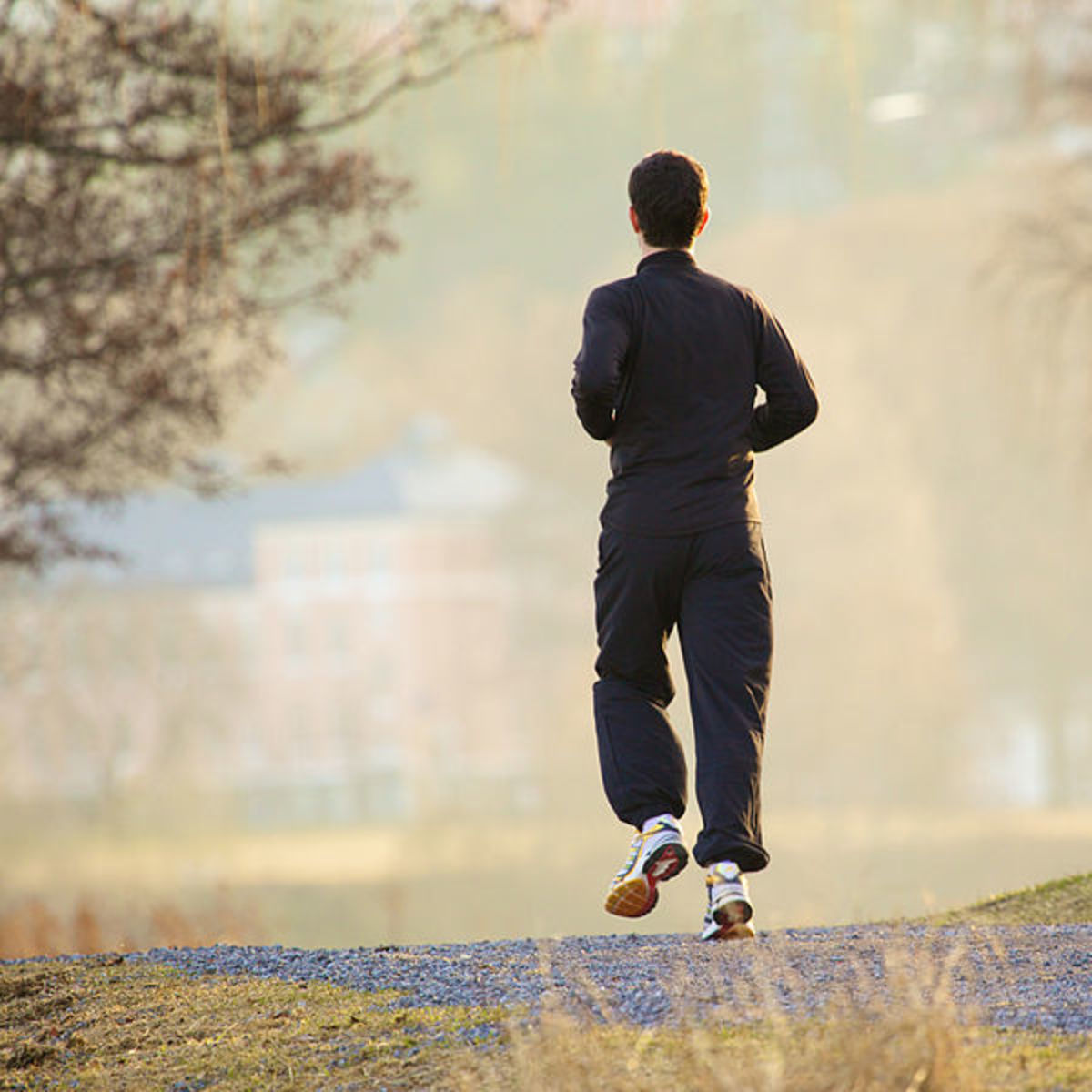 Going for a run in the local park is an excellent way for college students to get exercise, fresh air, and away from studying for a while.