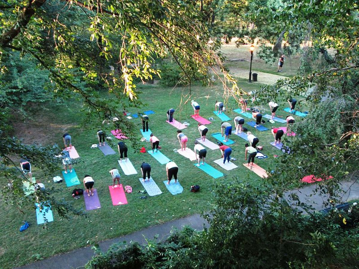 Yoga is an excellent form of exercise for college students, as it is great for reducing stress.