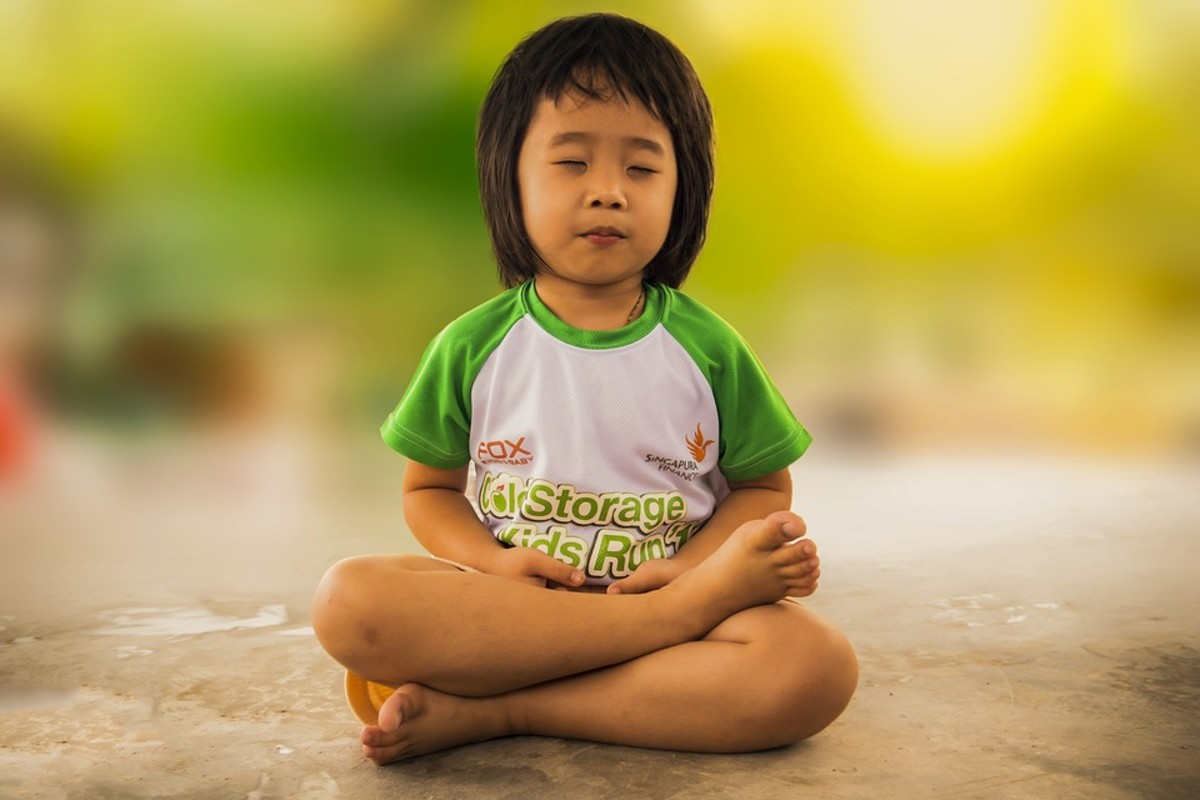 Yoga can help kids to calm their minds, reducing stress and anxiety.