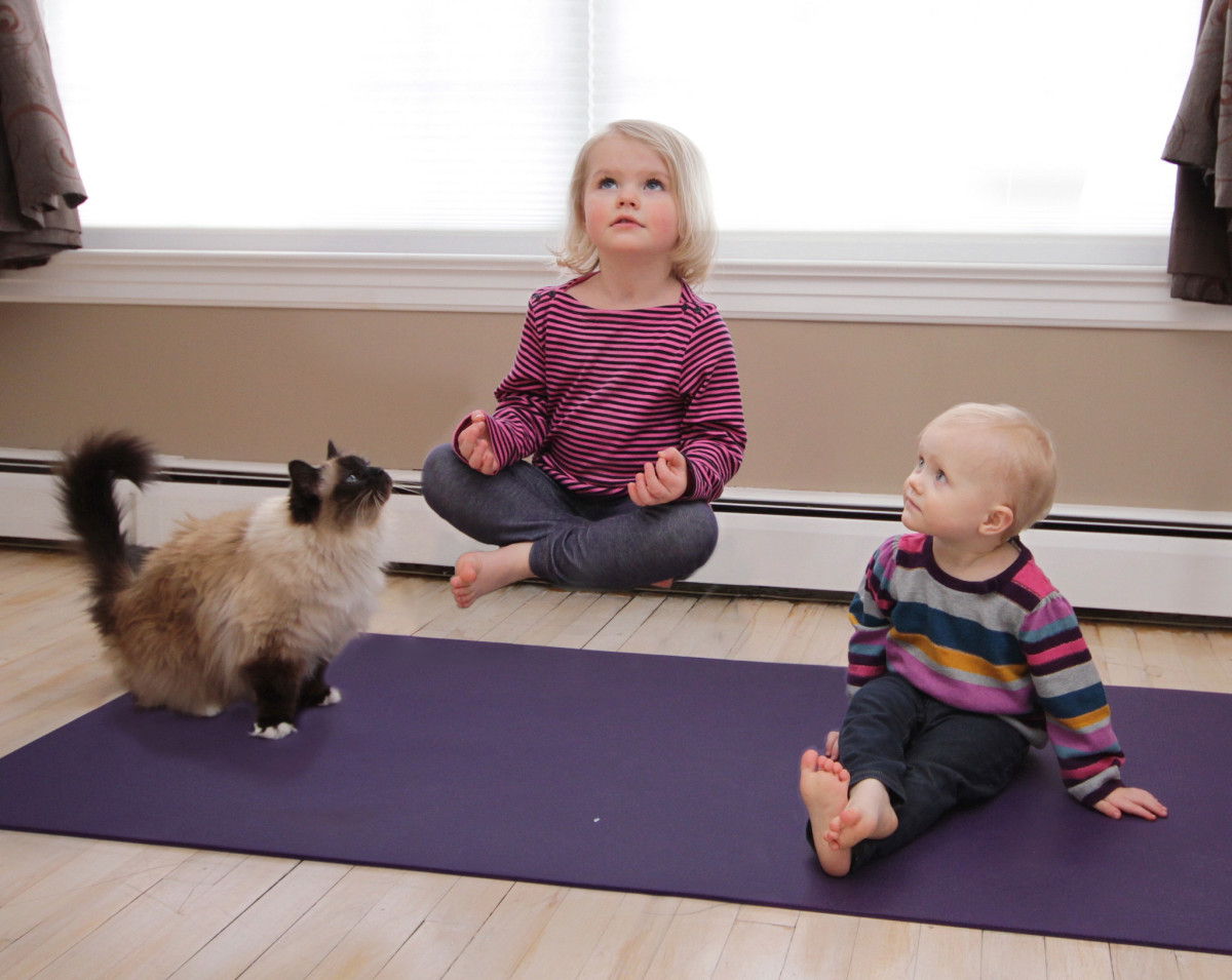 Yoga can help kids to develop focus and concentration skills, helping them to do better in school.