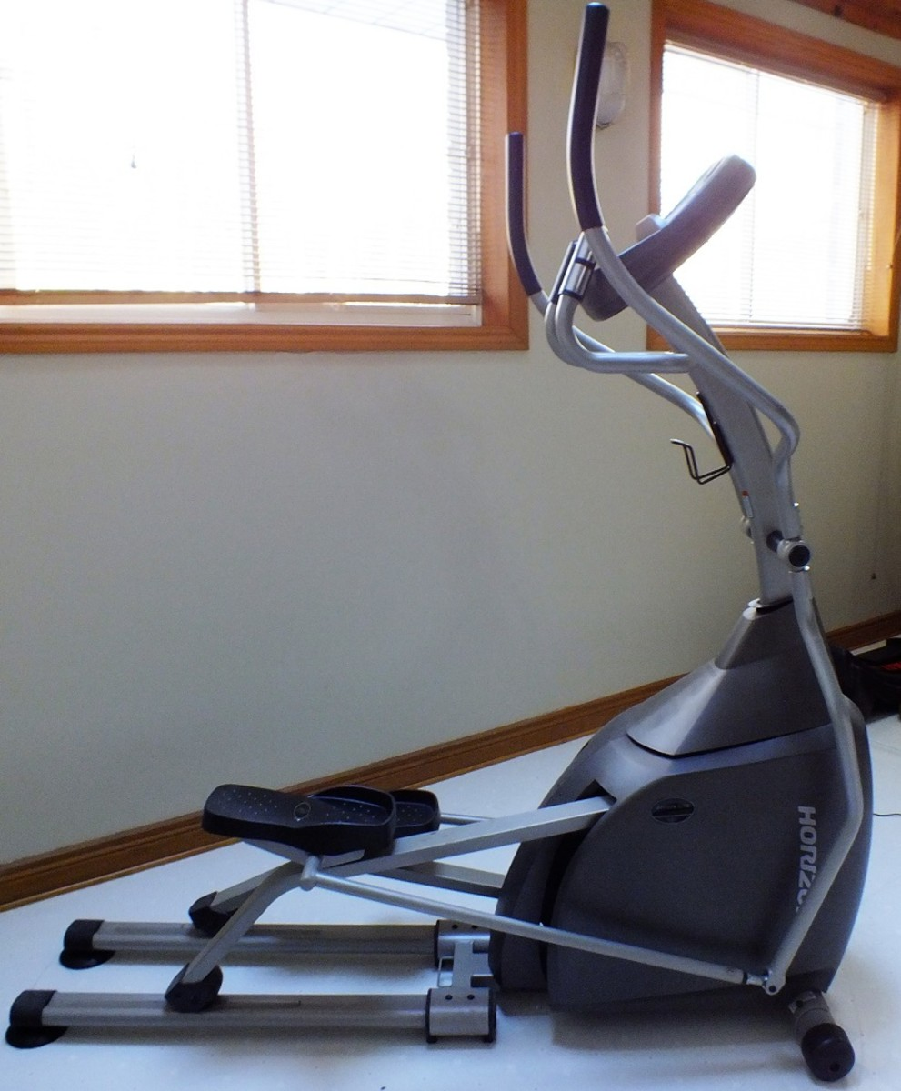 Elliptical trainers are easy on your joints.