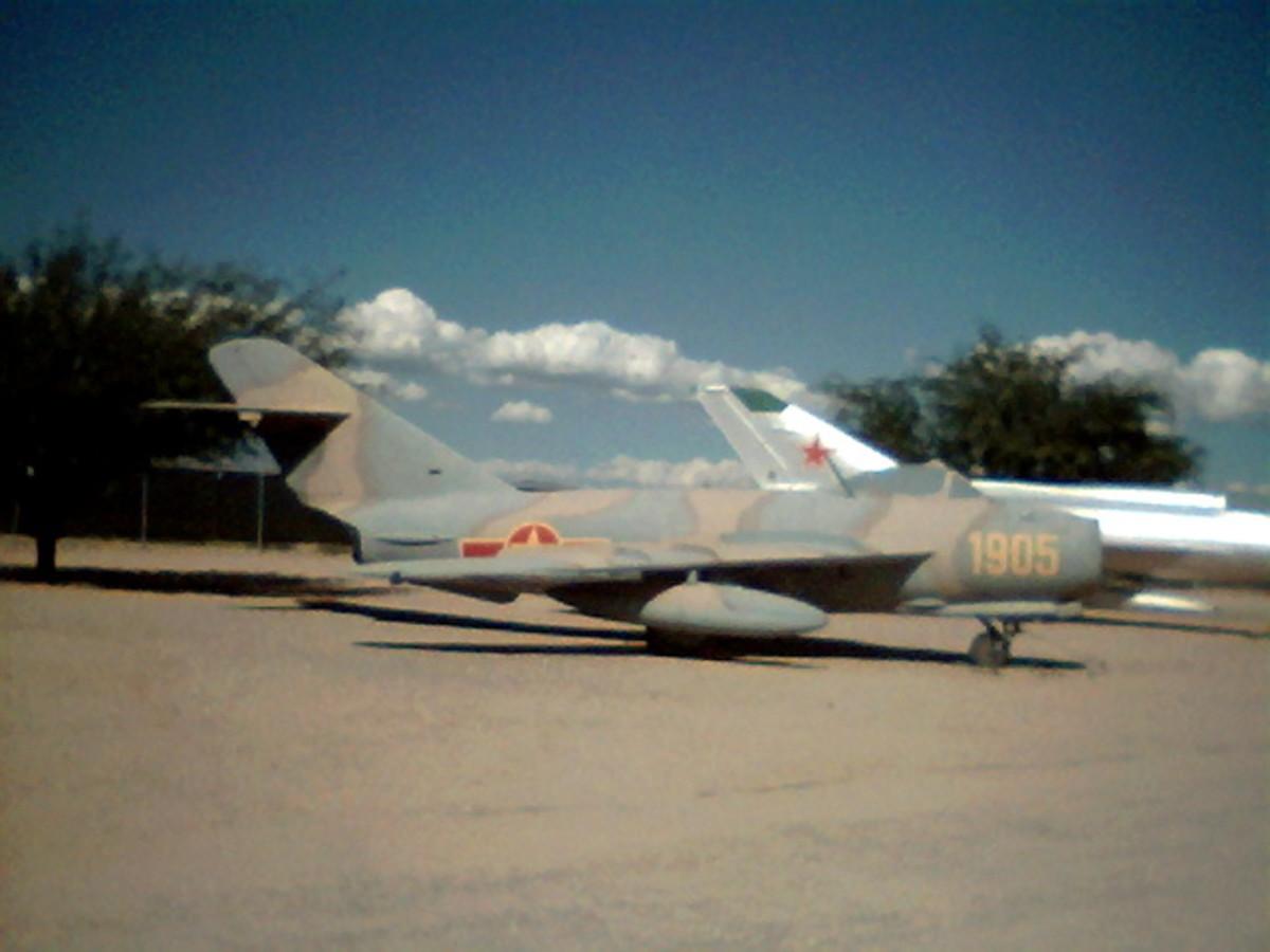 Soviet MiG-U15T1 at Pima Air Museum in Tucson, Arizona