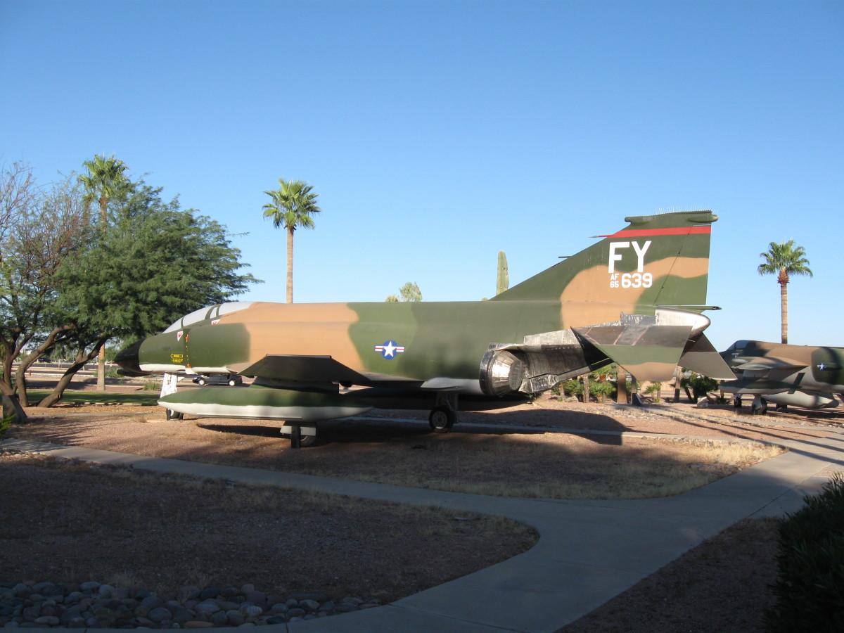 USAF F-4 Phantom at Davis-Monthan AFB in Tucson, AZ