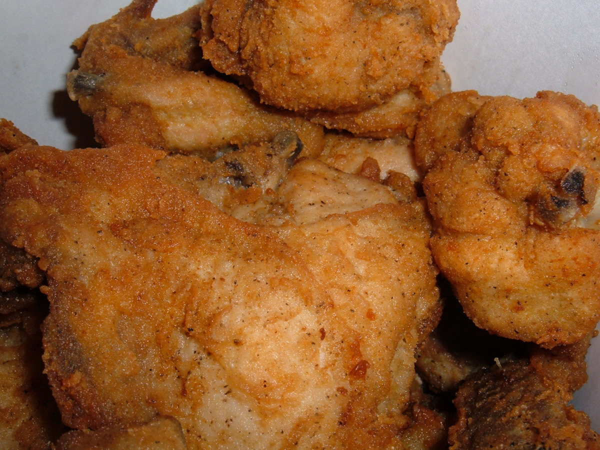 Believe it or not you can have fried chicken on a low-carb diet. Thank goodness!