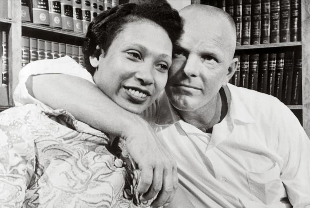 Mildred Jeter and Richard Loving, the plaintiffs in the case Loving v. Virginia (source: Bettmann/Corbis via New York Times)