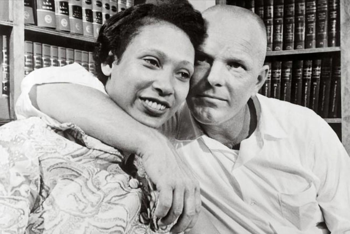 Mildred Jeter and Richard Loving, the plaintiffs in the case Loving v. Virginia.