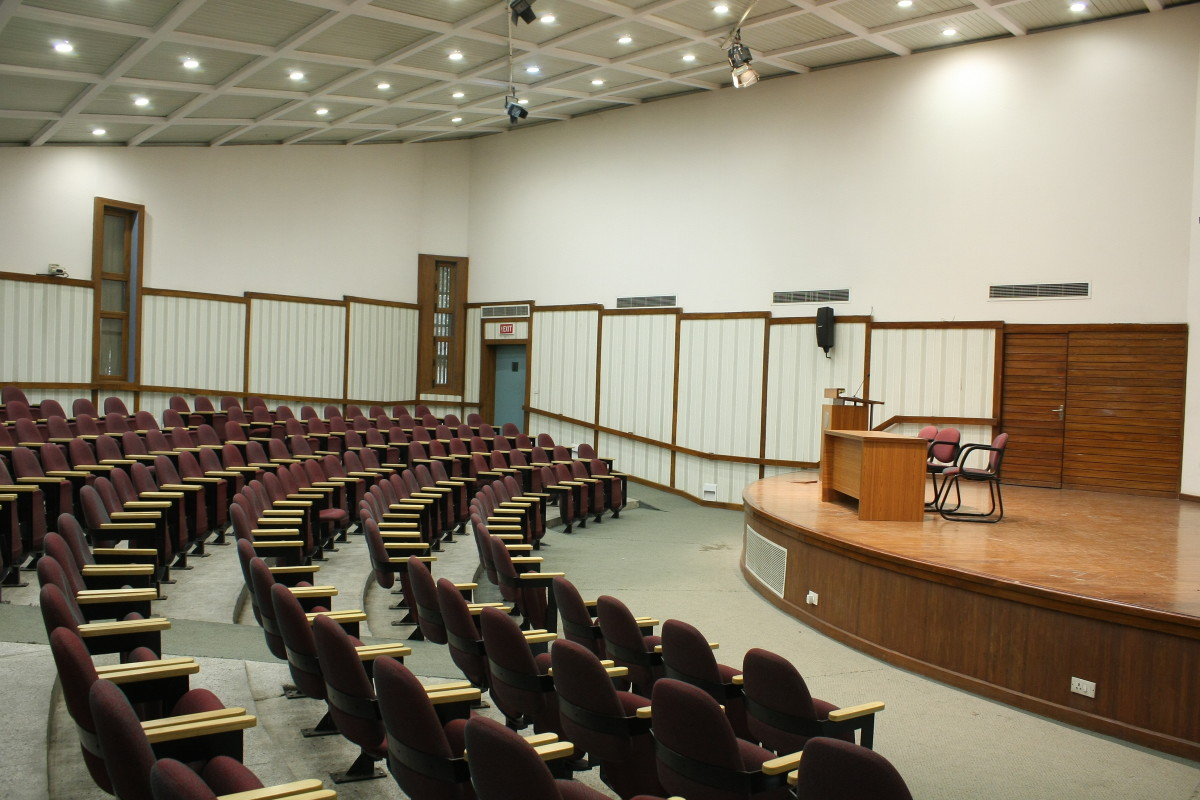 Auditorium at South Campus of SMS Delhi