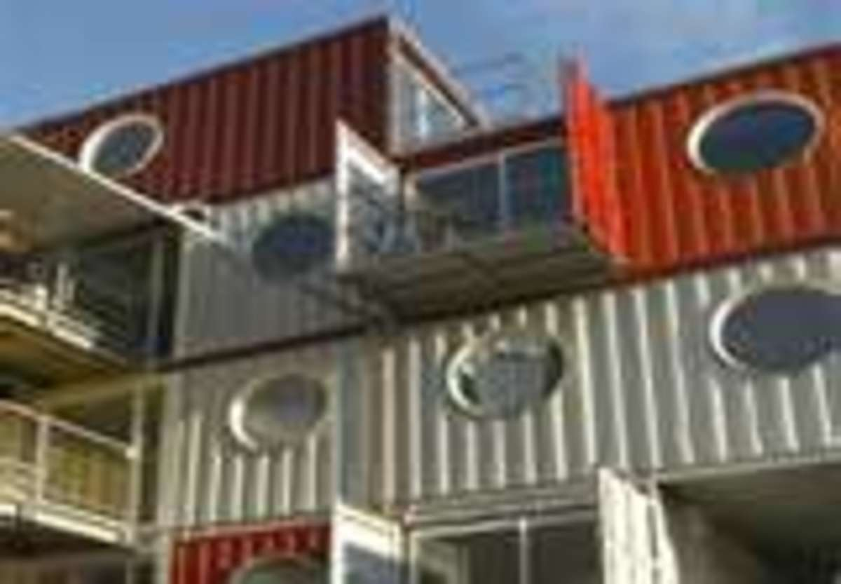 Shipping Container And Cargo Container Dream Homes