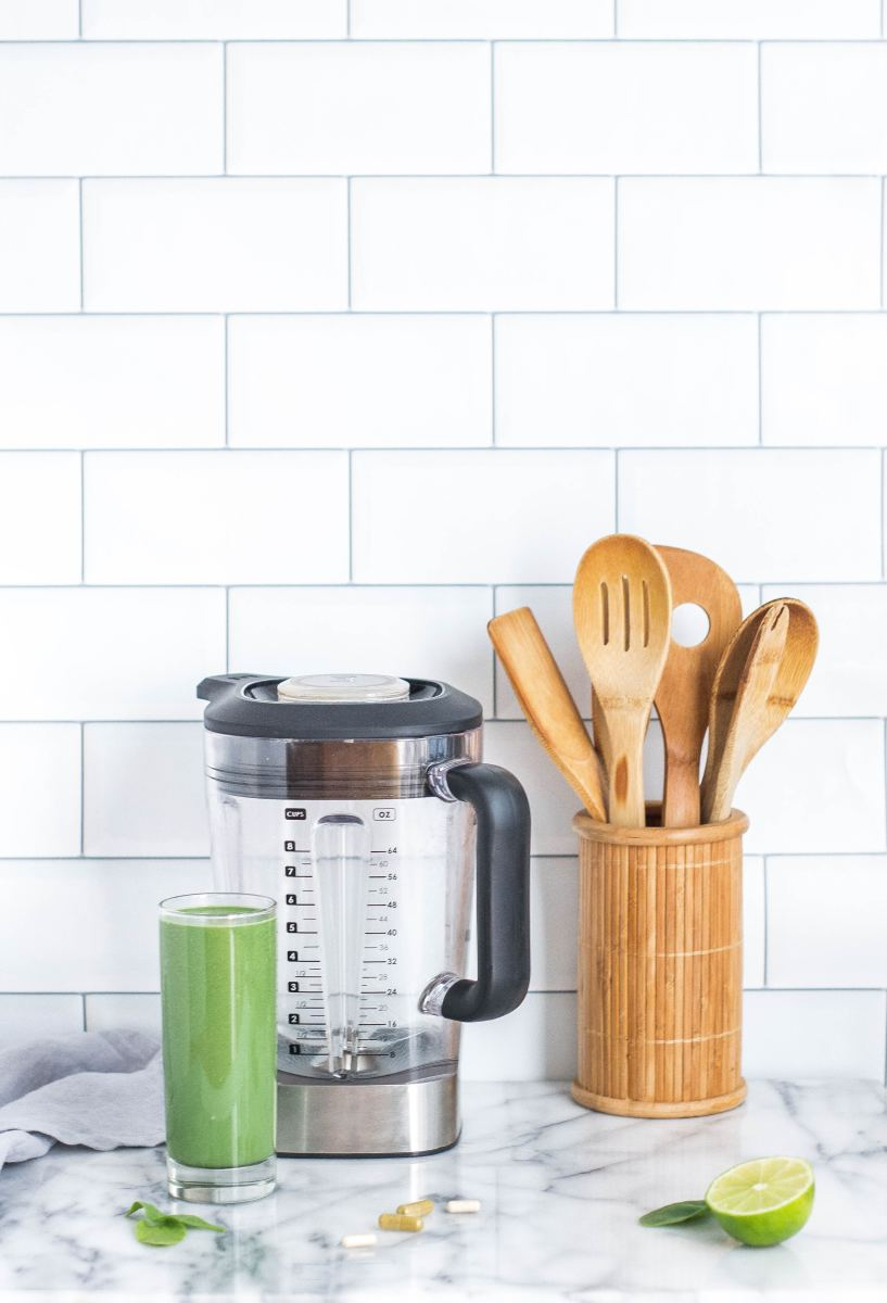 A blender is a fine example of kitchen appliances you can find on a $100 budget.