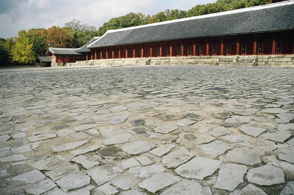 Royal Shrine of Jongymo, Seoul. A UN World Heritage Site.
