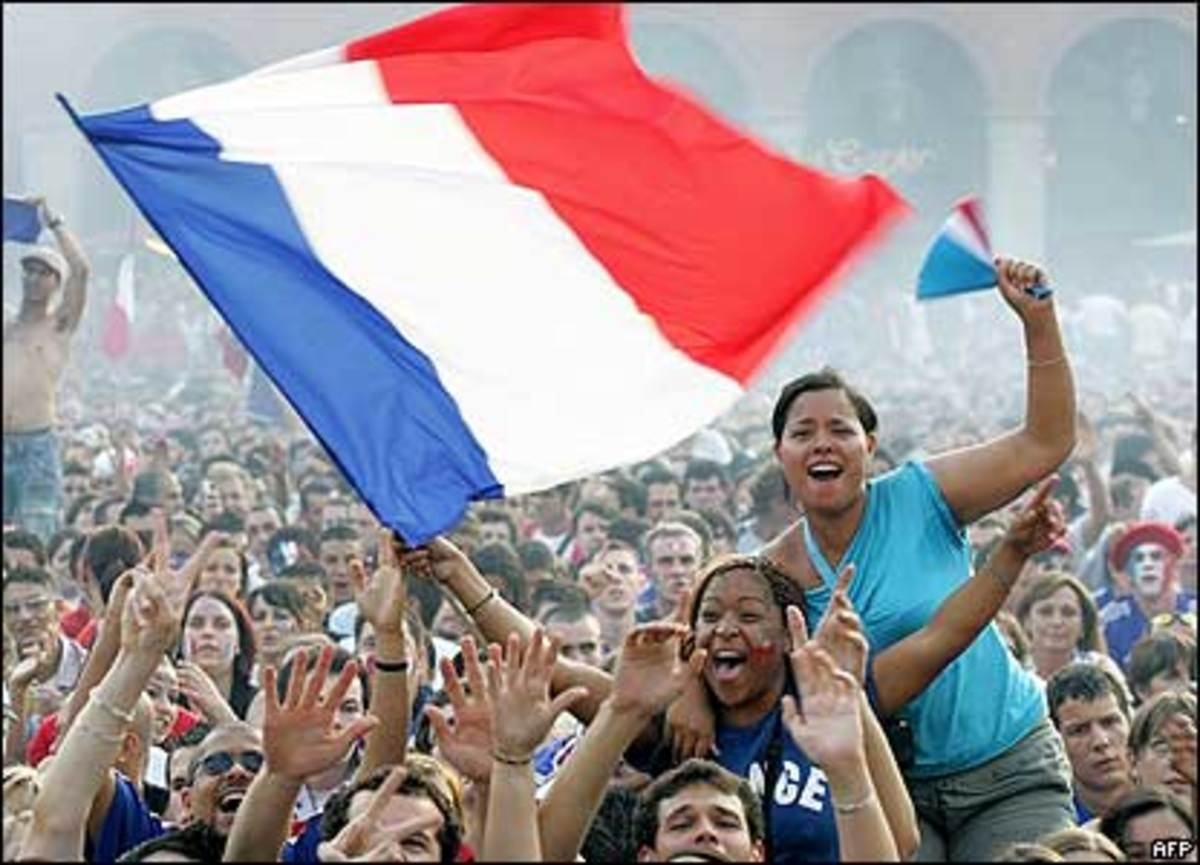 The people of France are very proud of their heritage. Those who become citizens of France share in this pride.