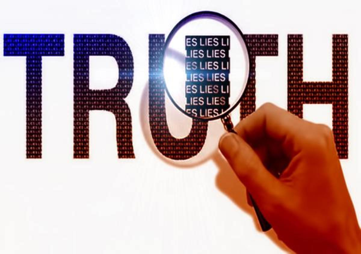 Two Opposites: Truth And Lies