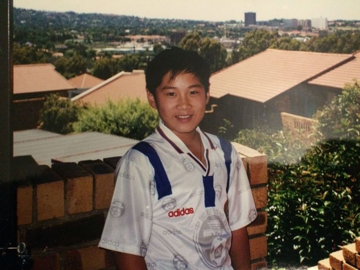 11-year-old me in South Africa, 2001.