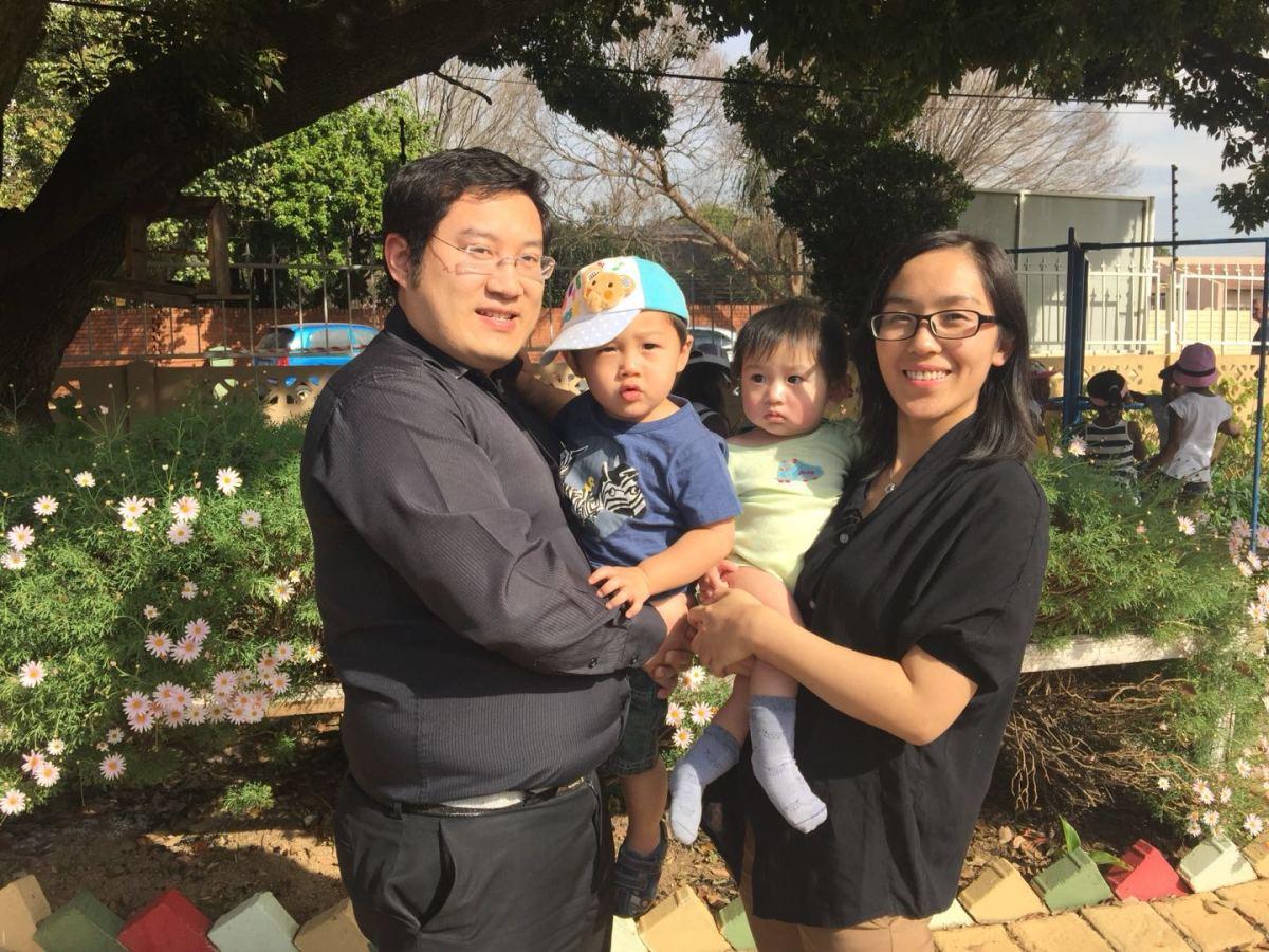 September 2016, South Africa. Family photo.