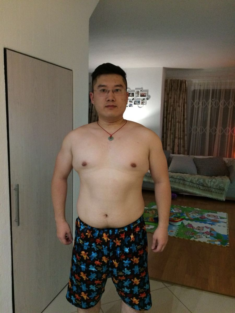 December 2016, Weight 84.7kg.