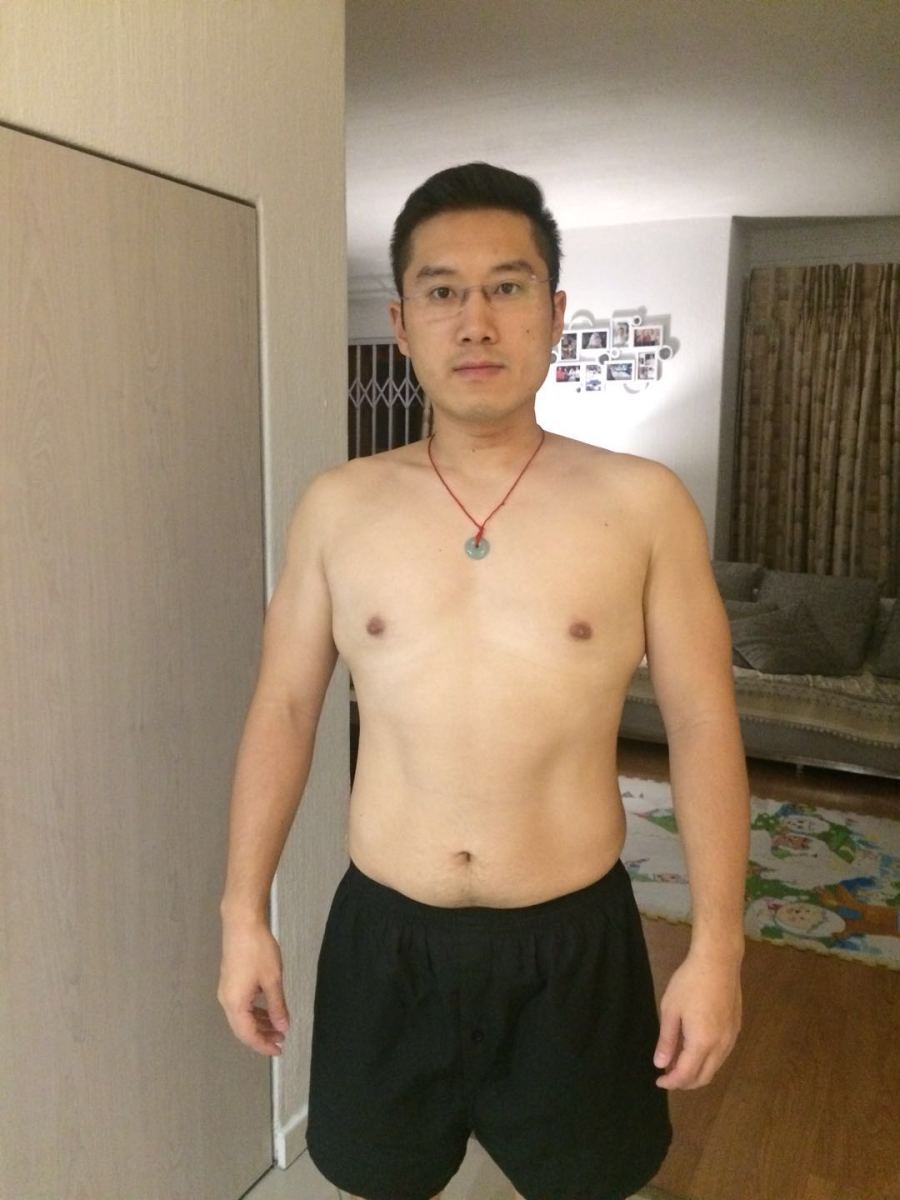 Mar. 2017. Weight: 74.9 kg