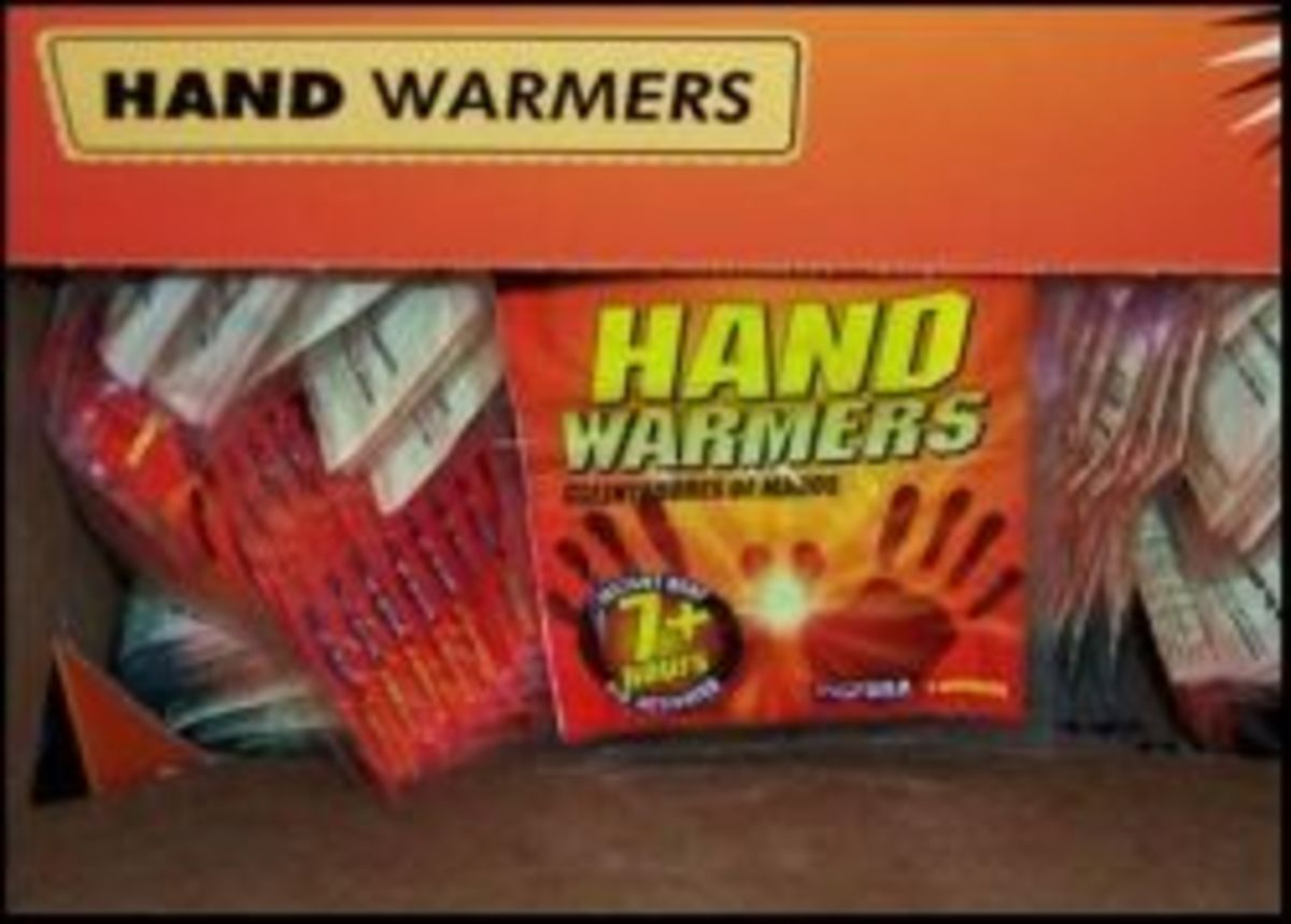 While hand warmers or even the bigger warmers aren't enough to really keep a person warm they do provide a little extra comfort for cold hands.