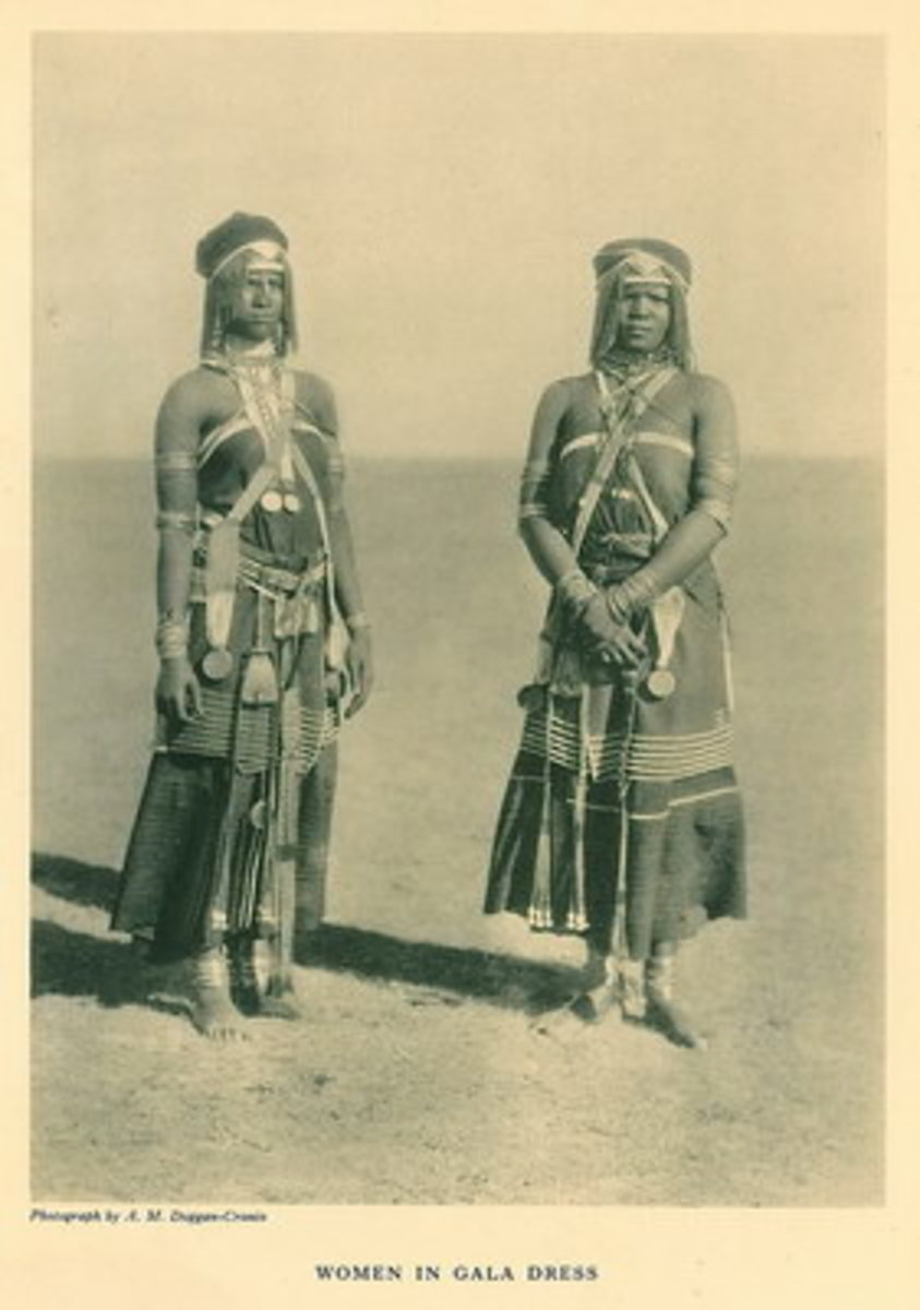 Xhosa Women In Gala Dress