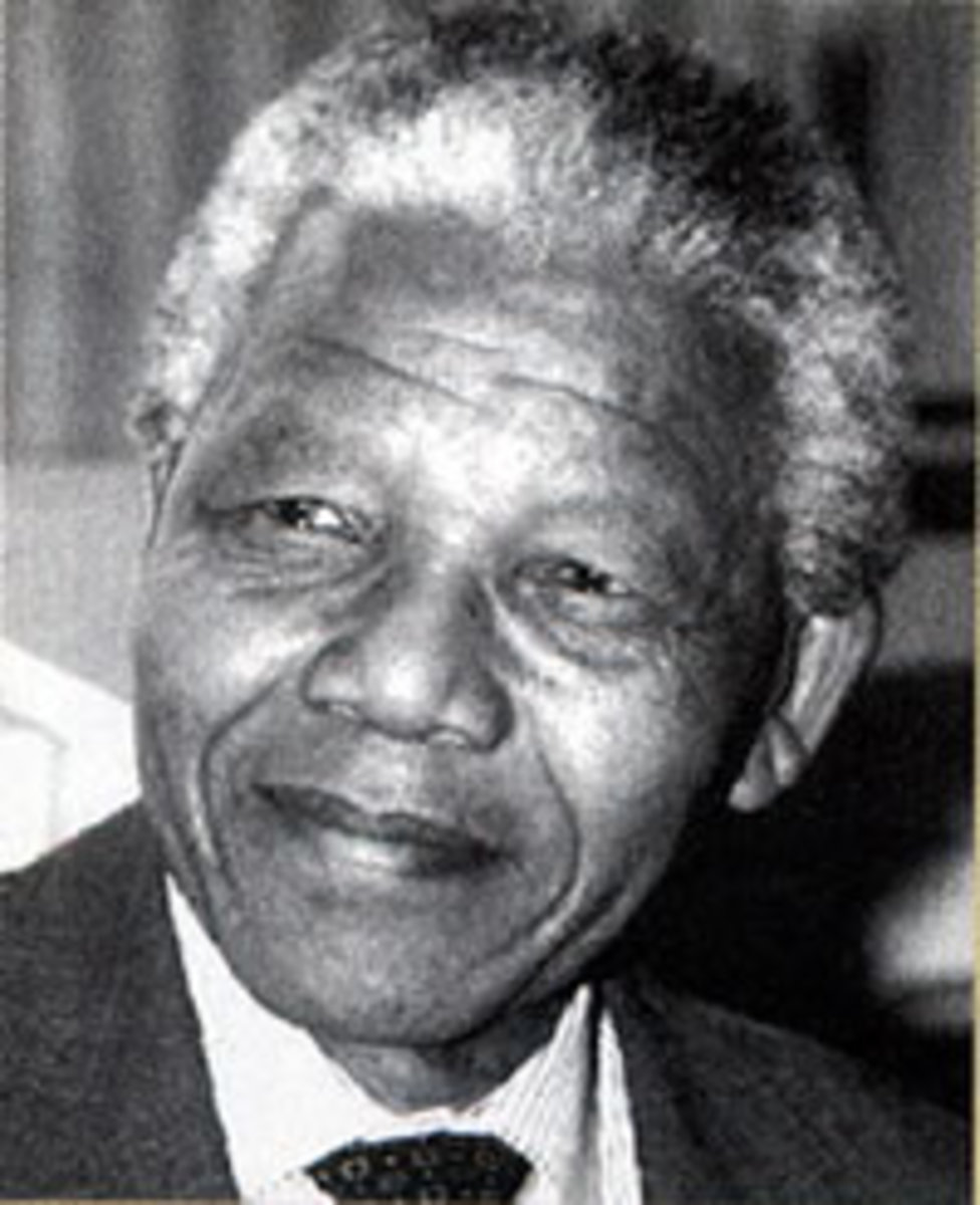 Nelson Mandela was born into royalty in Mvezo, a village  in Umtata, Transkei. He belongs to the Thembu clan of the Xhosa people