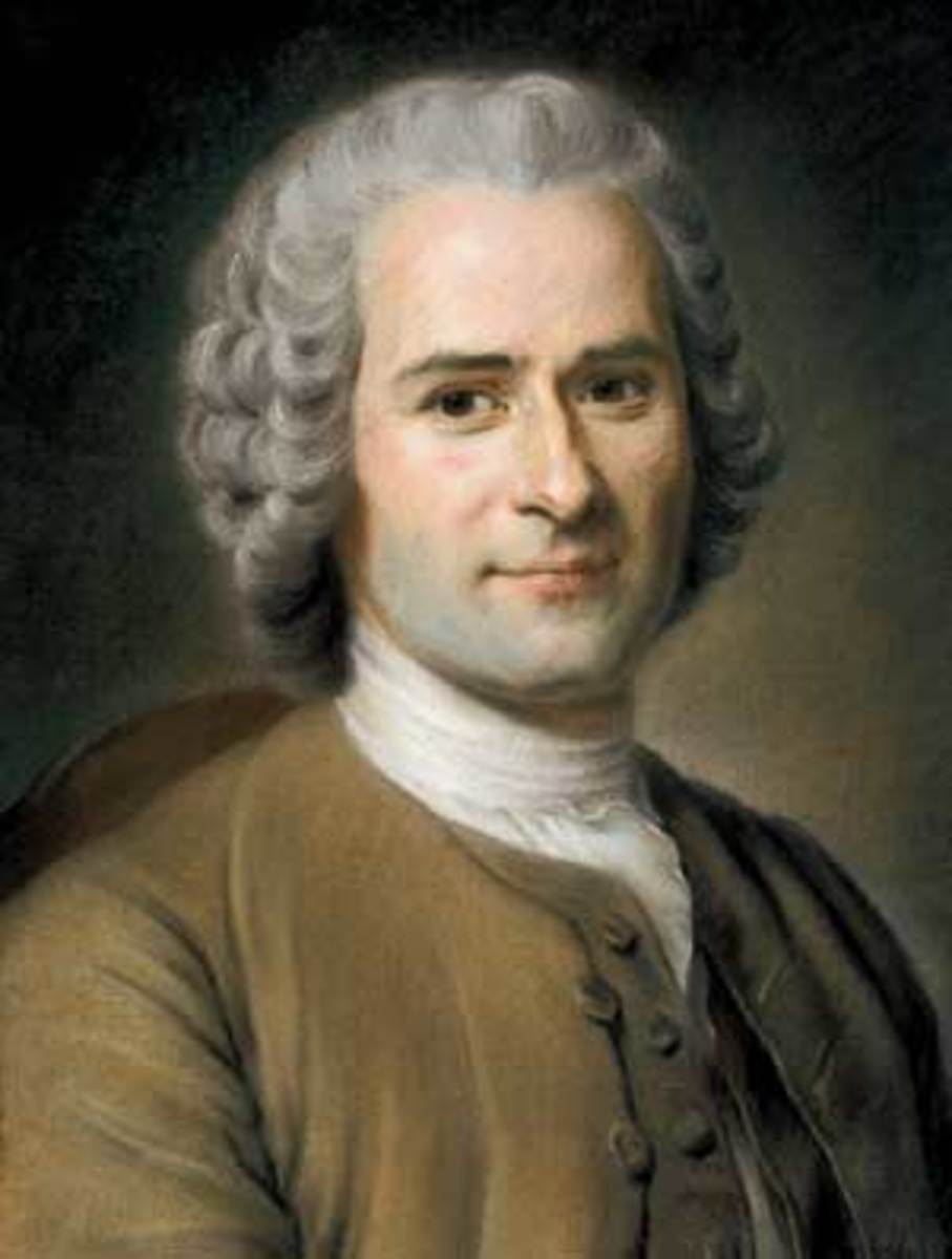 Rousseau was a romantic and novelist who got popular support in France and believed that society and human nature were at odds.