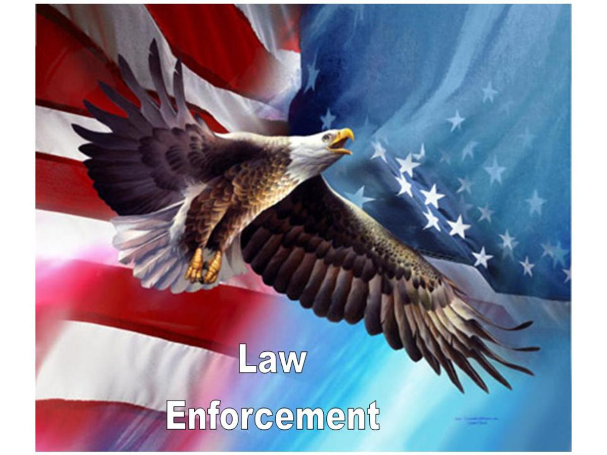 Always treat Law Enforcement officers with respect.   They do not make the Law, they only enforce it!