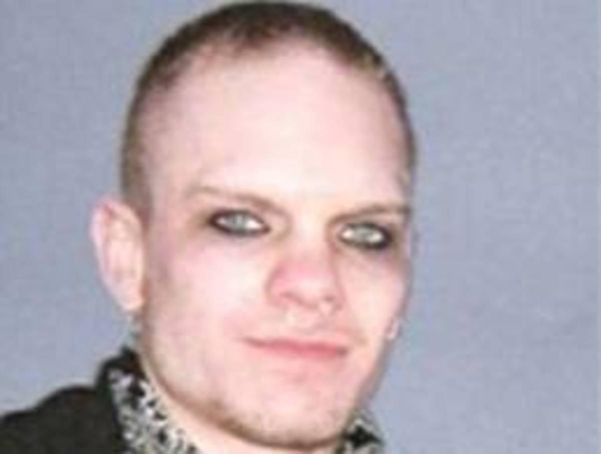 23 year old murderous boyfriend of Jasmine Richardson & self proclaimed 300 year werewolf.