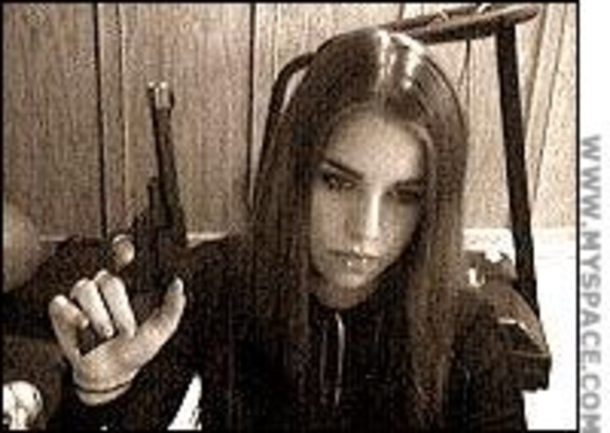 Photo from Jasmine's myspace page.