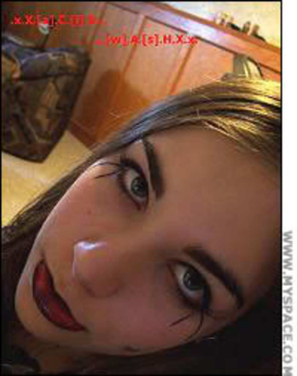 Another photo of 12 year old Jasmine from her myspace page.