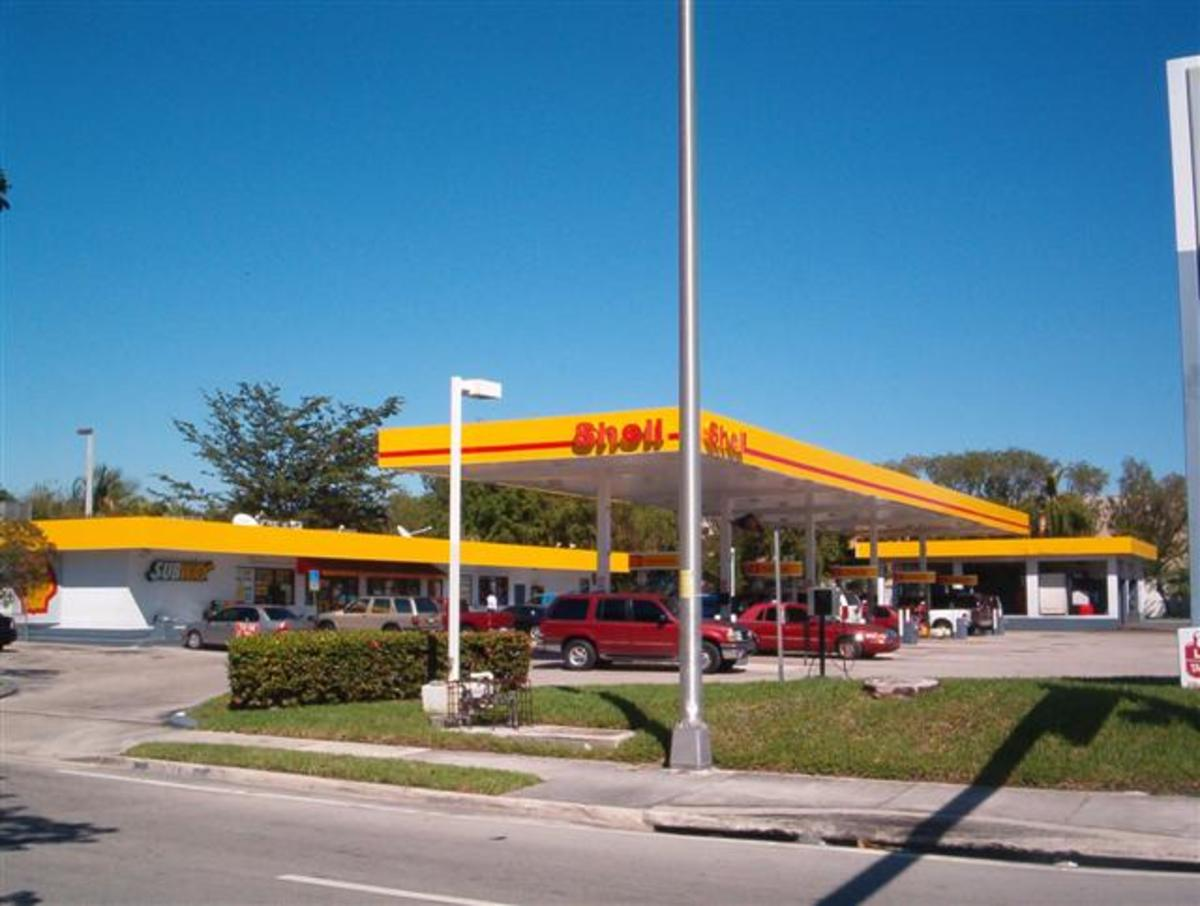 Shell Gasoline