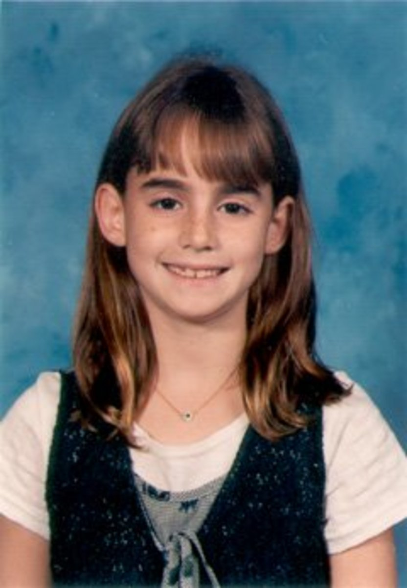 Maddie's school photo.