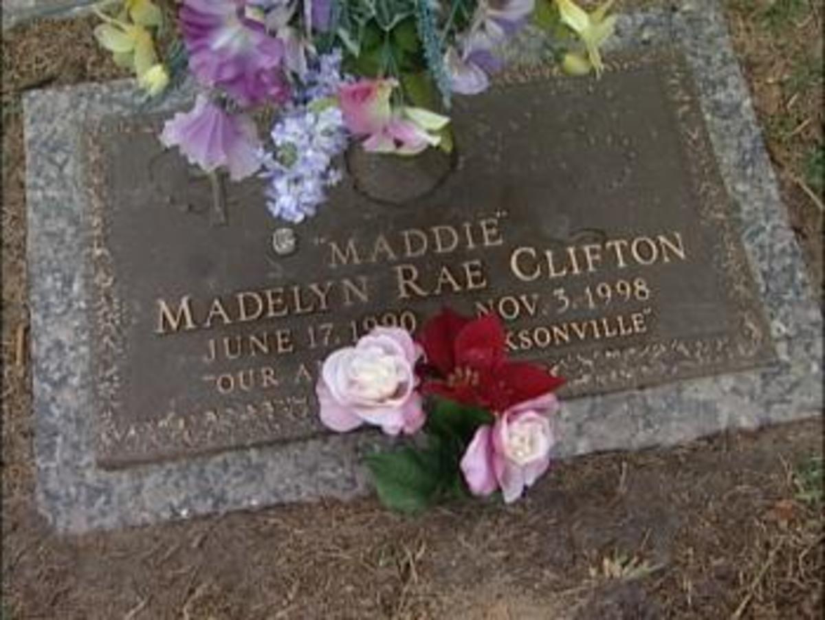 Maddie's grave.