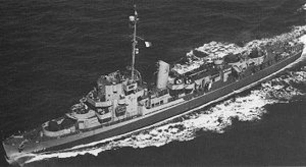 USS Eldridge Ca. 1944