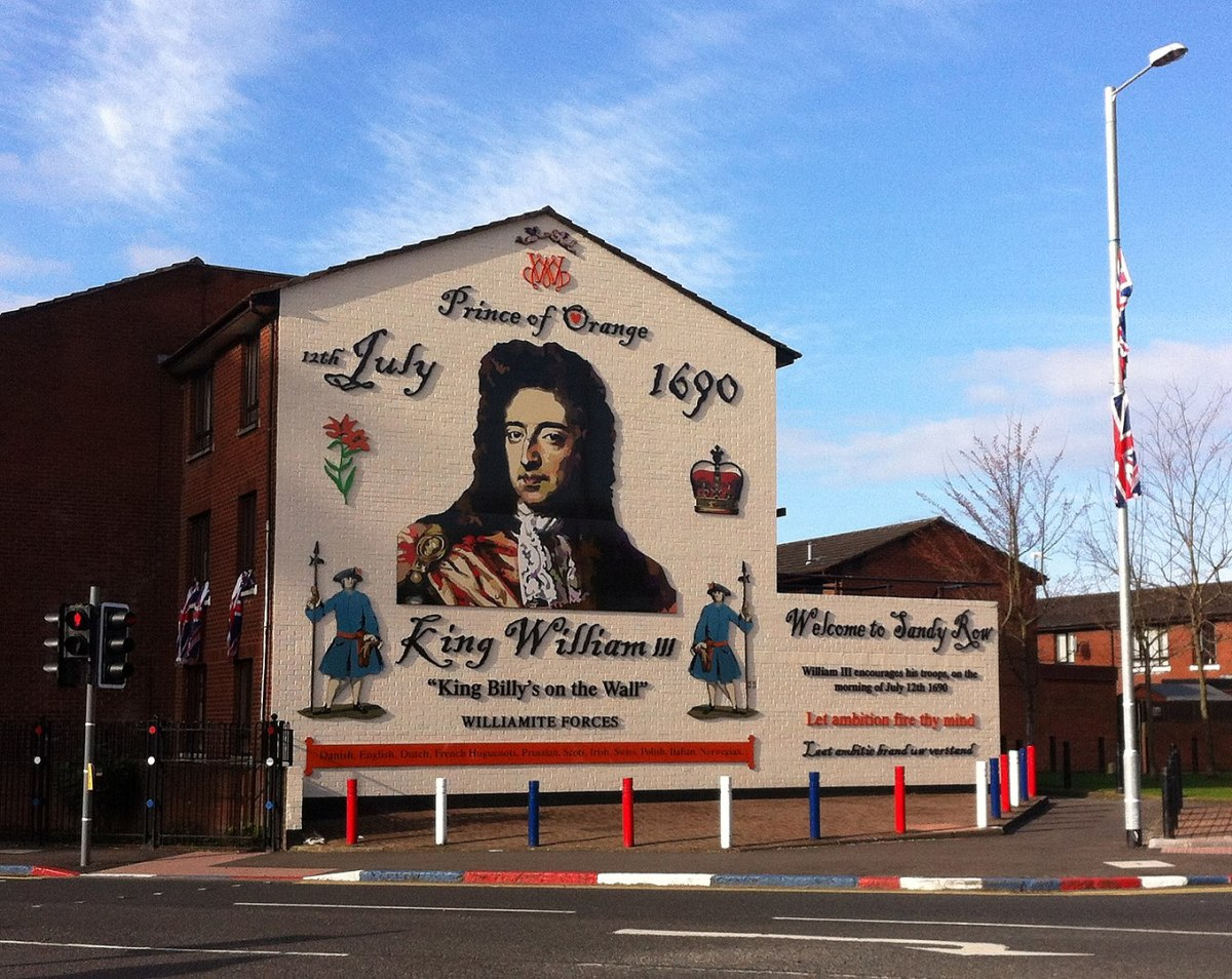 Murals supporting either the Protestant or Catholic cause are still to be found throughout Northern Ireland.