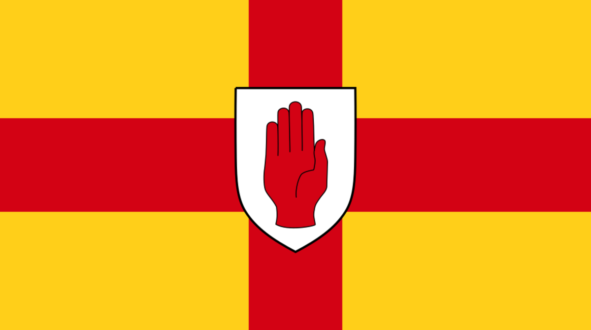 The Red Hand of Ulster should have been a shared symbol but its use by loyalist paramilitaries, including the 'Red Hand Commandos', means it is more usually seen as a Protestant symbol.