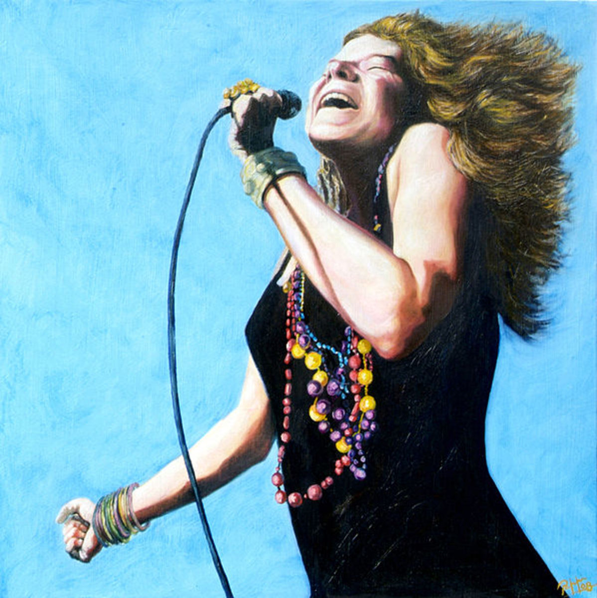 The first successful female rock singer, Janis Joplin, died at the age of 27 from a heroin overdose.