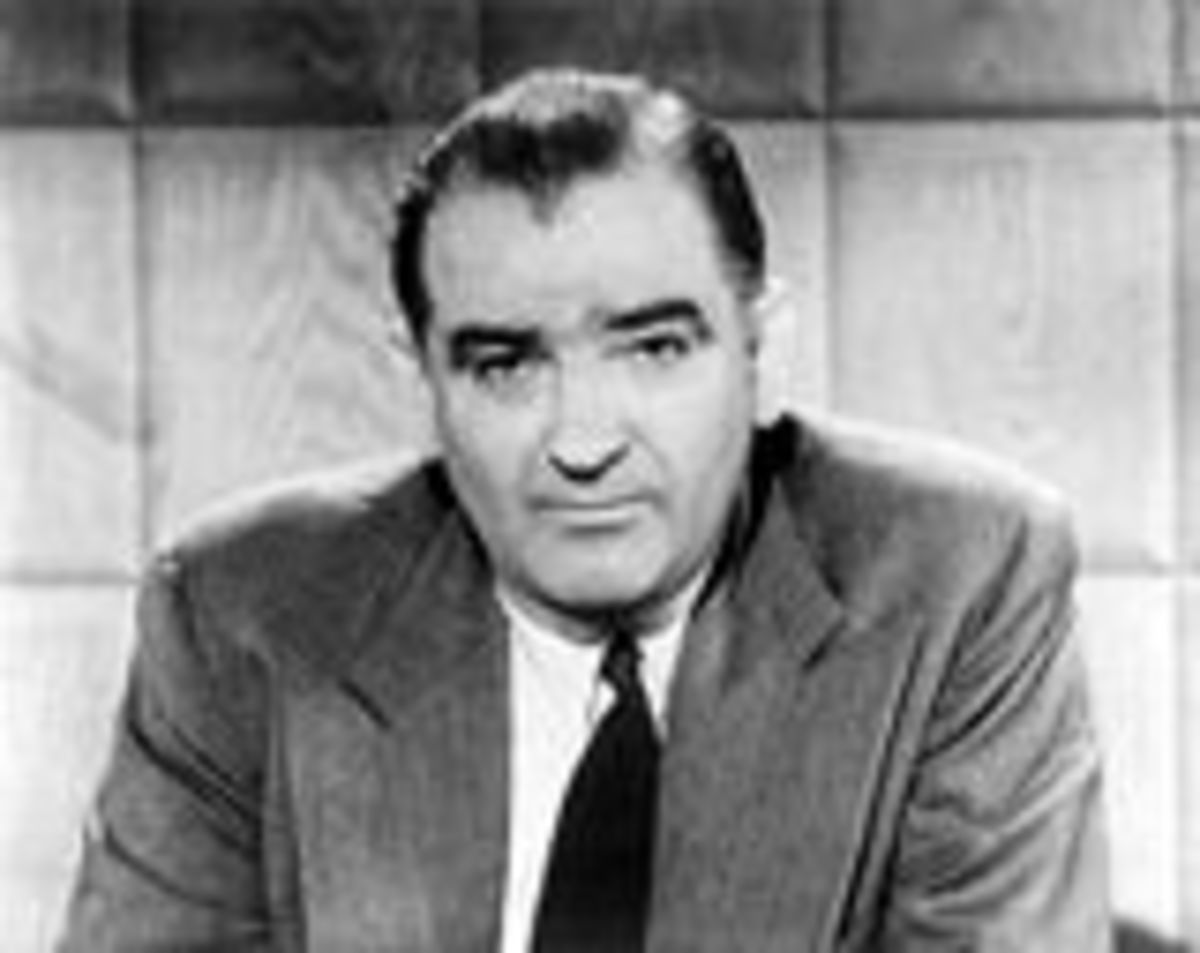 Senator Joseph McCarthy served only 10 years in the Senate 1947 to 1957